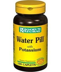 how to use water pills to lose weight