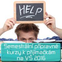 článek přípravné kurzy semestr 2016