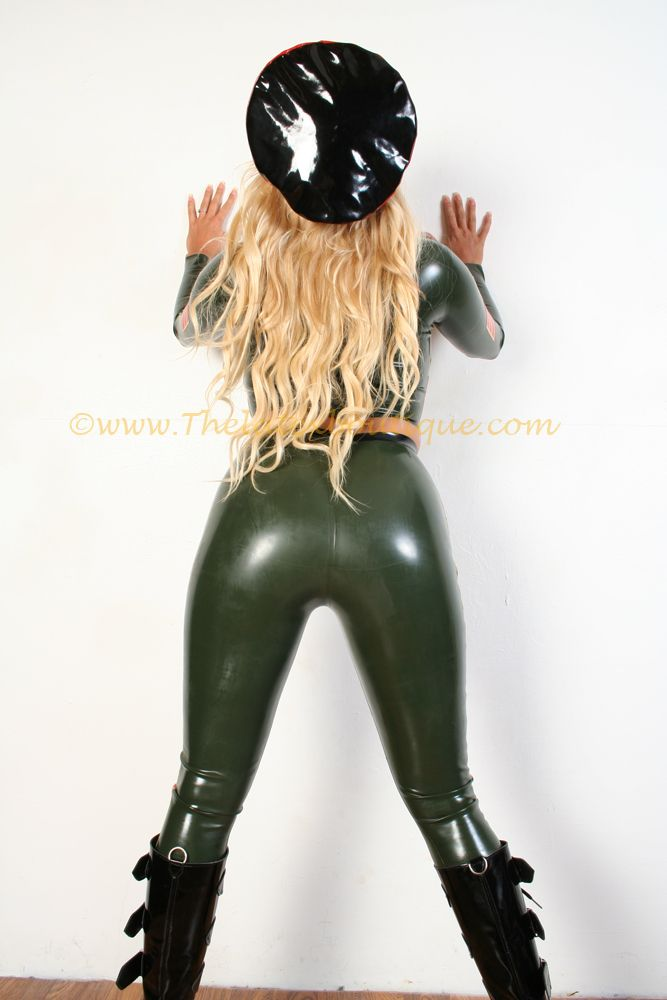 Sexy Military Latex Leggings from https://www.etsy.com/uk/shop/Thelatexboutique