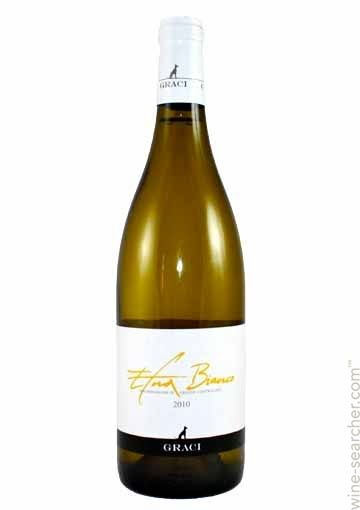 Graci Etna Bianco 70% Carricante, 30% Cataratto Straw yellow on the color with intense aromas of honey, pineapple, and floral notes. On the palate, it's dry, quite fresh, quite tasty, persistent with a full body and notes of citrus fruits, tropical fruits, and minerals. It's ready to be drunk now so go find some! BP: Buy