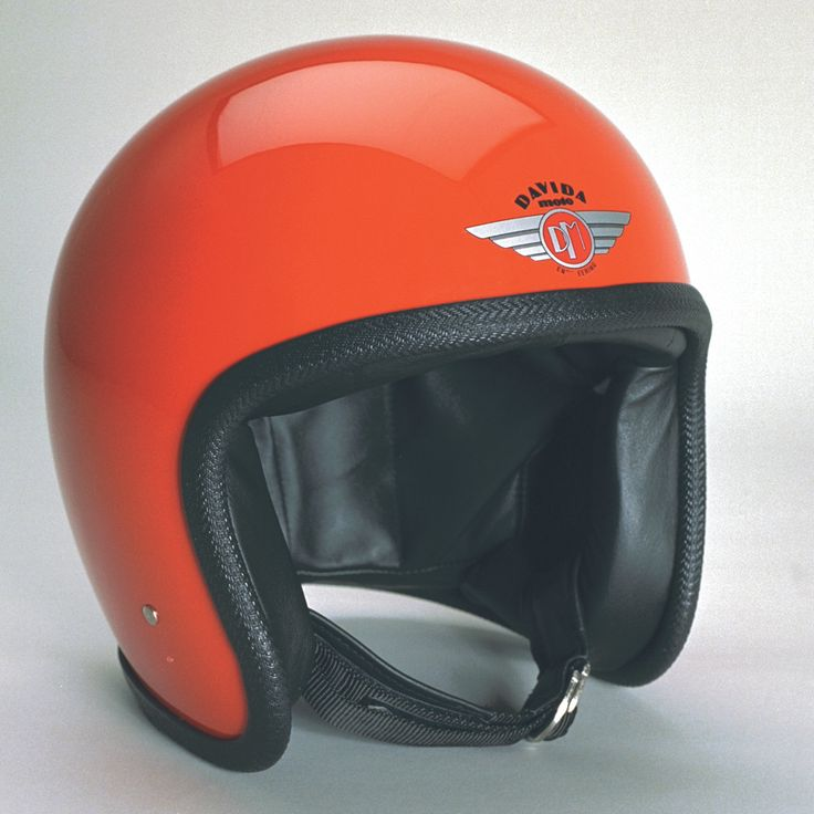 Davida Ninety Two Helmet - Orange