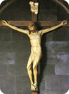 FILIPPO BRUNELLESCHI, Gesù in croce, Santa Maria Novella 1406-08 in legno dipinto