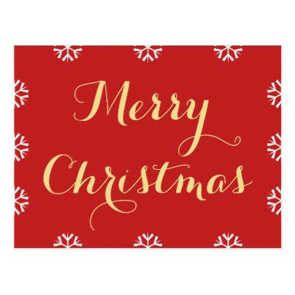 Create Personalized Custom Merry Christmas Holiday Postcard - holiday card diy personalize design template cyo cards idea