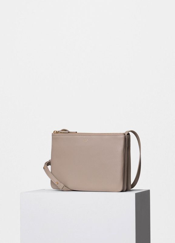 Trio Bag in Beige Smooth Lambskin - C¨¦line | Wish-wish | Pinterest ...