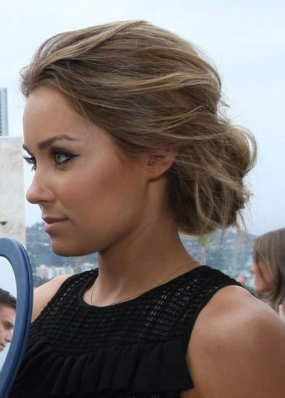 Pin By Amy Gibson On Wedding Hair Side Bun Hairstyles