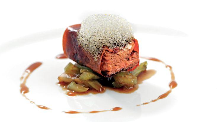 """""""Castratissimo"""" dello chef William Zonfa del Ristorante Magione papale de L'Aquila  #lamadia #lamadiatravelfood #food"""