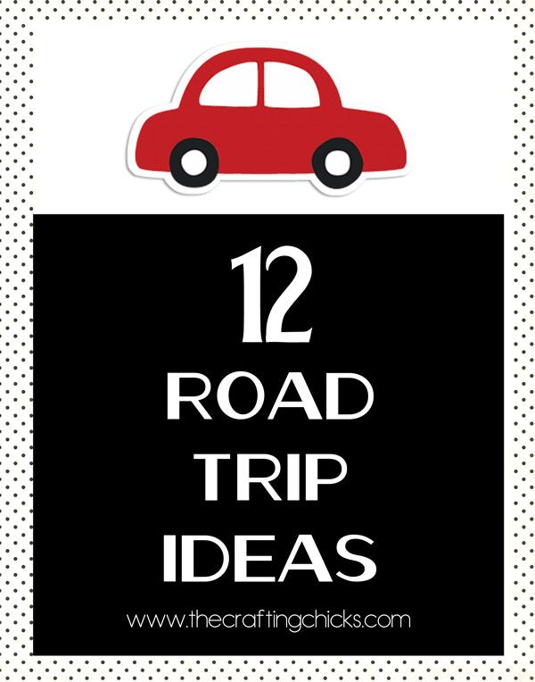 12 road trip ideas... perfect for summer vacations!