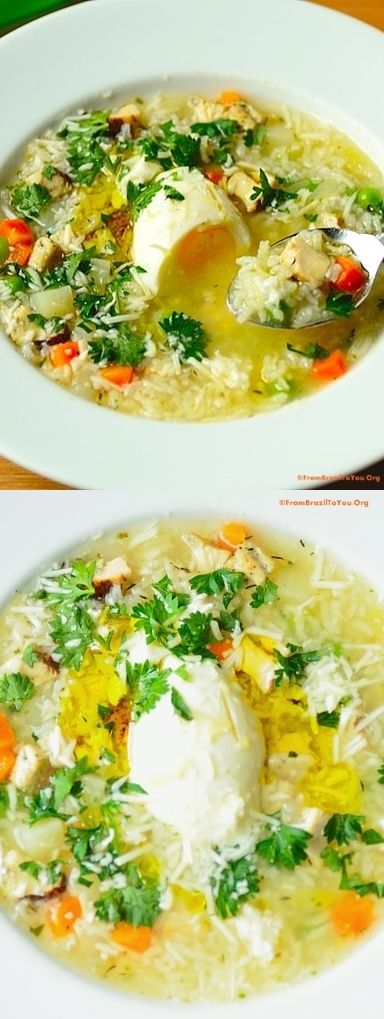 Grandma's chicken soup -- EASY, COMFY, COMPLETE weeknight meal!!!!