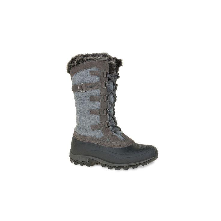 Kamik Snowvalley Women's Waterproof Winter Boots, Size: medium (11), Grey