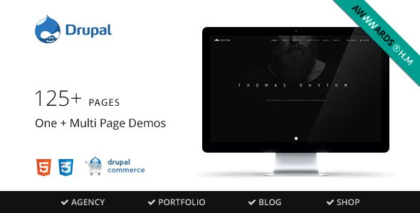 Rhythm - Multipurpose Commerce Drupal theme