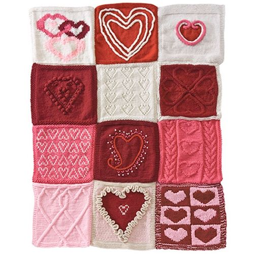 HAVE A HEART AFGHAN