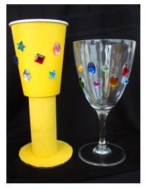 Homemade Goblets