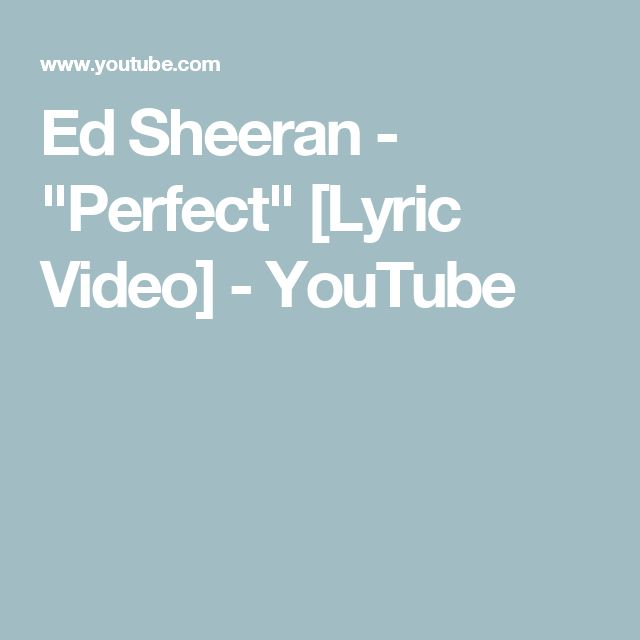 Perfect Ed Sheeran Piano Sheet Music With Lyrics: Best 25+ Ed Sheeran Lyrics Perfect Ideas On Pinterest