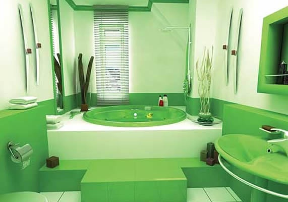 17 Best Images About Green Bathroom Ideas On Pinterest