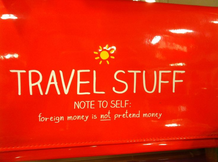Haha! Travel wallet from happy Jackson - selfridges