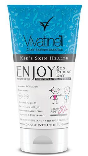 Enjoy Kids' Sun Cream  / Enjoy Çocuklar için Güneş Kremi