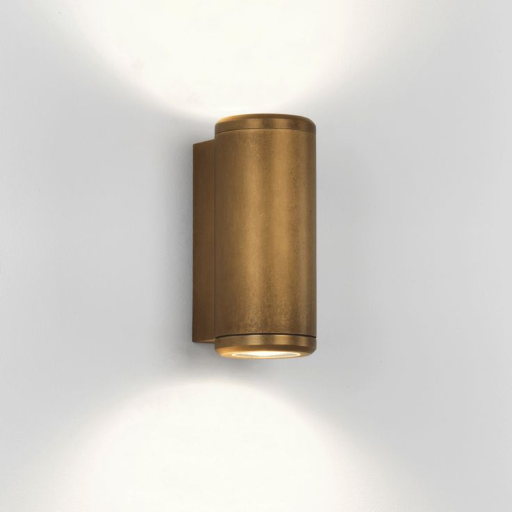 astro-jura-twin-coastal-exterior-brass-wall-light Coastal Collection by ASTRO