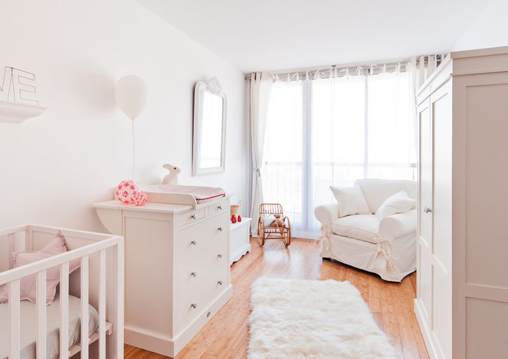Room of the Day: A White Cocoon for Baby