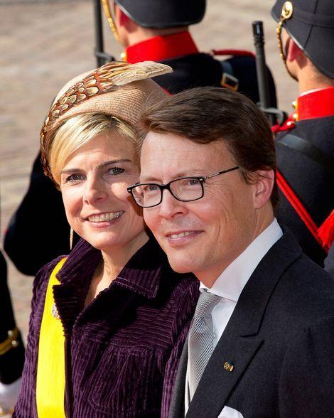Prince Constantijn and Princess Laurentien, Prinsjesdagsdag 16 september 2014