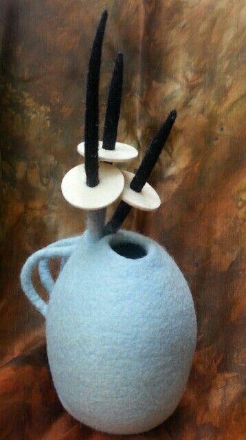 Small felt vessel