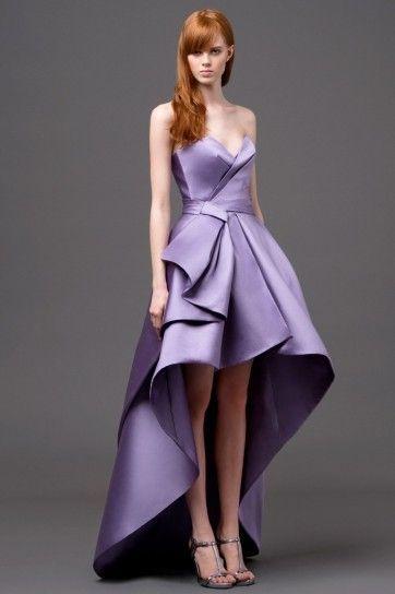 Idee abiti da sposa colorati 2015 - Alberta Ferretti