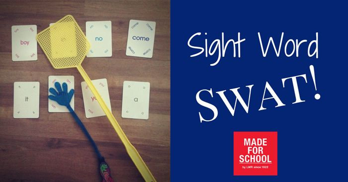 A fun way to learn sight words during National Literacy and Numeracy Week.  Sight word swat!  Happy swatting with the kids - Natalie