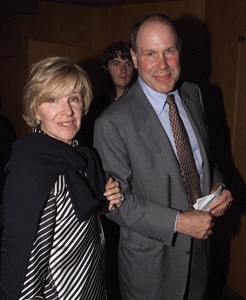 Michael Eisner and wife Jane Breckenridge. Recently Eisner has invested in Veoh.