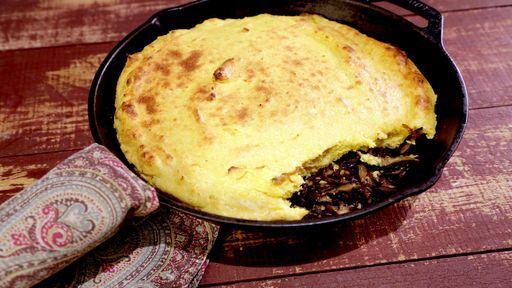 Mushroom and Corn Spoon Bread Recipe | The Chew - ABC.com