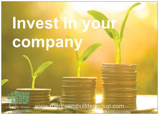 #Invest in your company