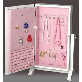 DIY: post earring Jewelry Box Wall Mount Armoire