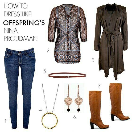 Offspring: Nina Proudman Outfit