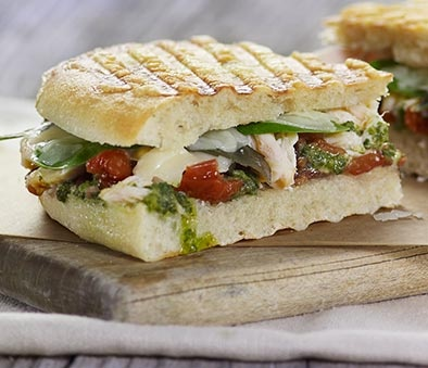 Pesto Chicken Panini, runner-up in the Panera Sandwich Showdown!
