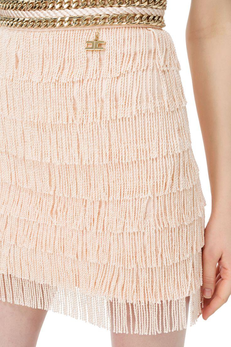 😀 ¡En la #boutique #MaribelFernández tenemos disponible esta #minifalda de #ElisabettaFranchi! ¡Consulta tu talla en la #tienda #online!