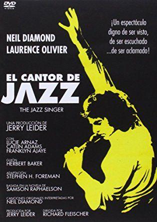 """DVD CINE 2509 - El cantor de jazz (1980) EEUU. Dir.: Richard Fleischer. Drama. Romance. Sinopse: remake de """"O cantor de jazz"""". Yussel (Neil Diamond), un mozo cantante xudeu, está decidido a triunfar no mundo da música. En contra dos desexos do seu severo pai (Olivier) e da súa esposa, viaxa a California en busca do éxito. Alí coñece a unha muller que comparte os seus soños, pero a fama afástao cada vez máis das súas raíces."""