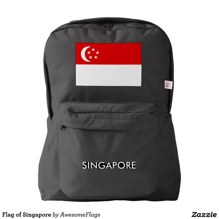 Flag of Singapore Backpack