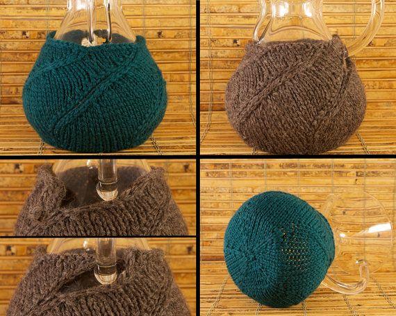 Hand Knit Chemex Cozy Custom Order Select Your door CEMsStudio