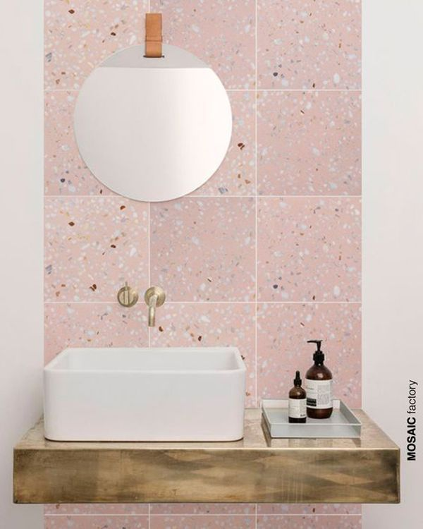 Pink Bathroom Tiles Hot Or Not The Style Files