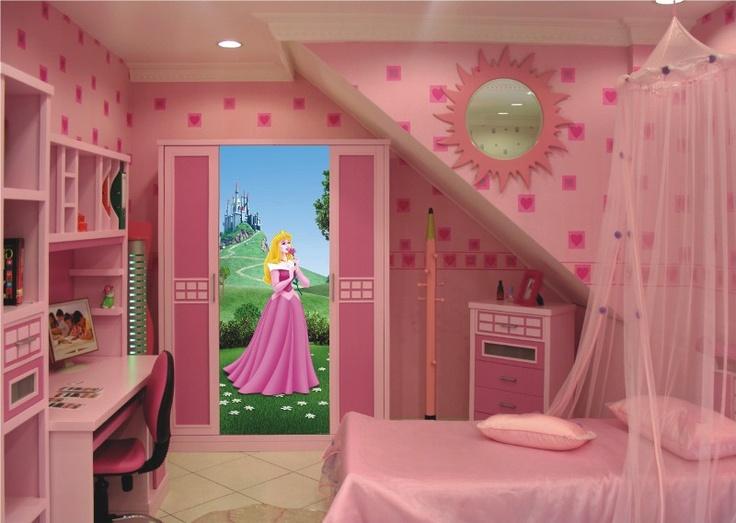Beautiful Chambre Fille Princesse Disney #12: Le Jolie Aurore Arrive Avec Son Conte De La Belle Au Bois Dormant ! Http:
