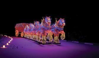 Enjoy a festive stopover this season in Peoria, Illinois. Details: http://www.midwestliving.com/travel/illinois/peoria/festive-stopover-peoria-illinois/