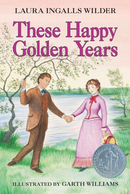 Book Seventeen: These Happy Golden Years by Laura Ingalls Wilder. Had to finish the series.