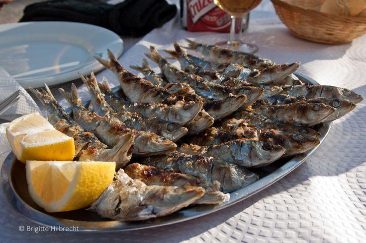 #Andalusia  #Málaga #Food #Espetos de sardinas - famous food of Málaga. For more information: http://www.amazon.co.uk/M%C3%A1laga-Capital-Coast-Brigitte-Hilbrecht/dp/1517300533/ref=sr_1_1?s=books&ie=UTF8&qid=1456574193&sr=1-1&keywords=malaga