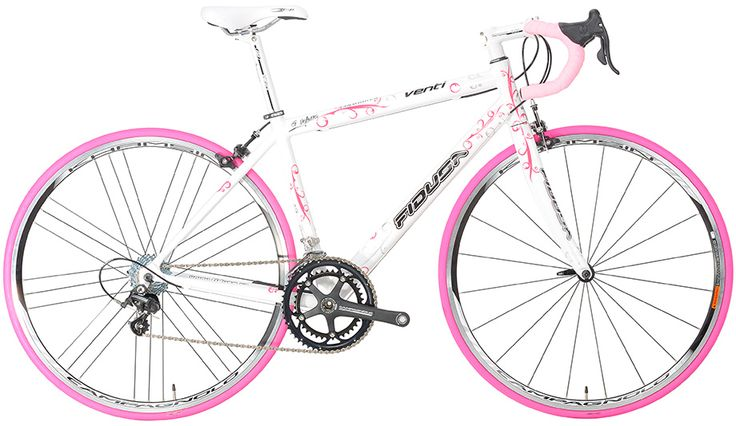 Venti Lady - Το Venti είναι ένα αλουμινένιο ποδήλατο,  κατασκευασμένο με σωλήνες  Dedacciai  G-Force.