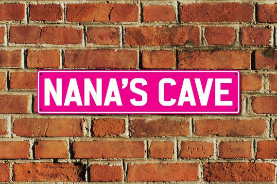 This listing is for one brand new NANAS CAVE metal sign, made of aluminium composite material with full colour printing, created by Doozi.