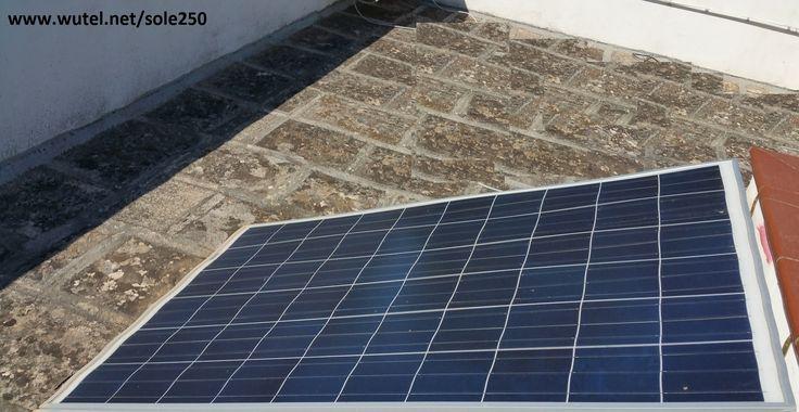 Photovoltaic farm DIY    http://www.wutel.net/sole250    Masseria fotovoltaica