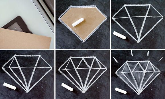 Diamond Themed Bridal Shower / Themes & Party Ideas | Fiskars
