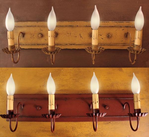 Best Primitive Lighting Images On Pinterest Chandeliers - Primitive bathroom lighting