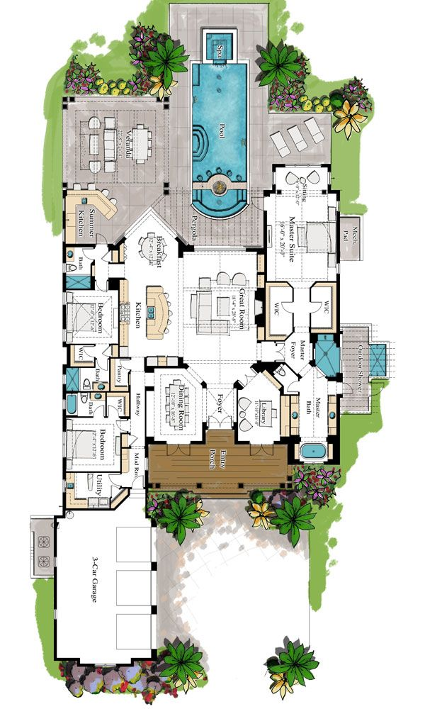 Floor Plan - Parade of Homes Presented by the Home Builders Associations of Sarasota and Manatee Counties Florida