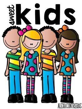 Sweet Kids Clip Art {FREEBIE}