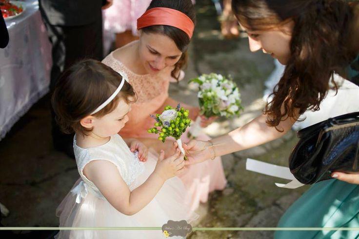 little bride bouquet