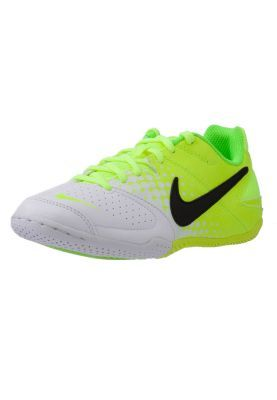 Nike  Built to enhance control, touch, traction, fit and comfort, the Nike Elastico for kids is designed for indoor soccer. Molded Ortholite sock liner for full-length cushioning and added comfort. Known for it's loud colors and sleek design, the Elastico is perfect for your little soccer star.